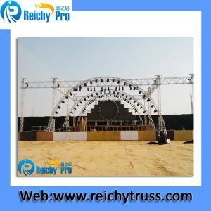 Hot Selling Portable Strong Aluminum Stage Spigot Truss pictures & photos