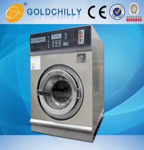 Laundry Coin-Washer-Extractor Machine Wash Clothes Coin Type pictures & photos