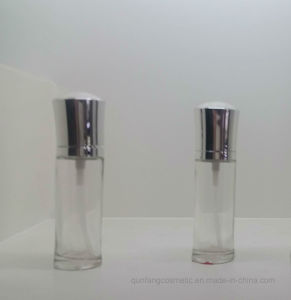 The Transparency Cosmetic Packaging Glass Bottle Qf-045 pictures & photos