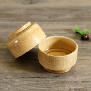 Natural Bamboo Bowl Child Health Eco-Friendly Bamboo Bowls Tableware pictures & photos