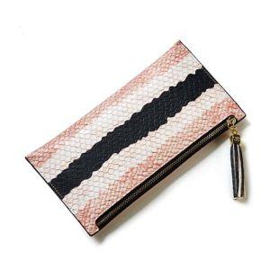 Crocodile Fashion Women Purse Wholesale Leather Wallet Bag (XQ0692) pictures & photos