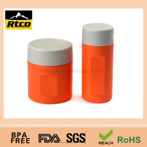 TPR Plastic Bottle Package with Plastic Lid for Medicine Package