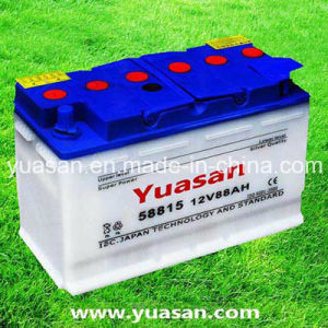 High Performance Lead Acid DIN Dry Charged Battery--58815 (12V88AH)