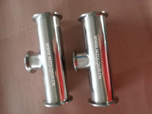 304/316L Stainless Steel Sanitary Special Reducer Clamped Tee pictures & photos