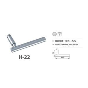 Stainless Steel 304 Simple Design Door Handle Lock (H-22) pictures & photos