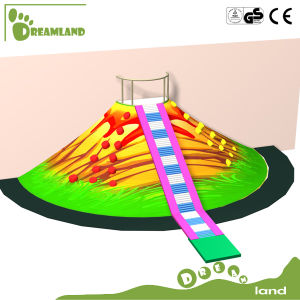 Indoor Playground Equipment Climbing Volcano with Tube Slide pictures & photos