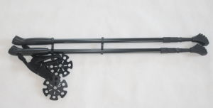 3 Section Aluminum 6061 Nordic Walking Pole (MW1027B) pictures & photos