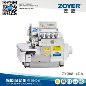 Zoyer Pegasus Ex Auto-Trimmer Direct Drive Overlock Industrial Sewing Machine (ZY988-4DA) pictures & photos