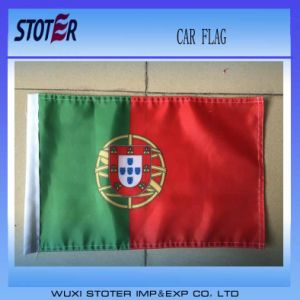 Sales Car Mirror Flags with Plastic Pole
