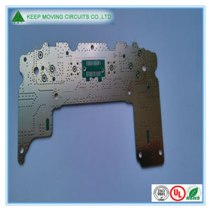 Double Sided Hal Lf PCB with Green Solder Mask pictures & photos