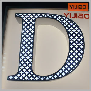 Acrylic LED Frontlit Channel Letters with Beautiful Pattern pictures & photos