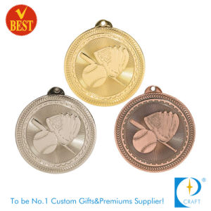 Custom Stamping Baseball Gold/Silver/Bronze Antique Award Medal pictures & photos