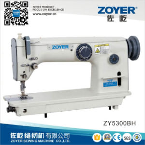 Zoyer Single Needle Lockstitch Zigzag Sewing Machine (ZY-5300BH) pictures & photos