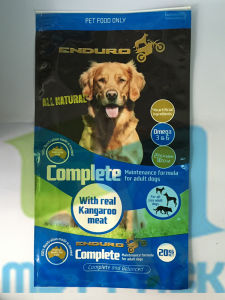 New Design Pet Food Packaging Bag with Slider Zipper pictures & photos