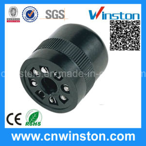 General Miniature Plastic Round Electrical Automotive Relay Socket with CE pictures & photos