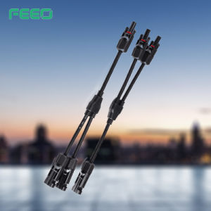 China Supplier Custom Power Connector Mc4 Extension Cable Assembly pictures & photos