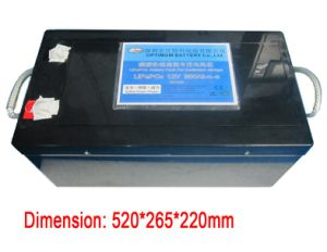 Rechargeable Li-ion 12V 300ah Battery pictures & photos