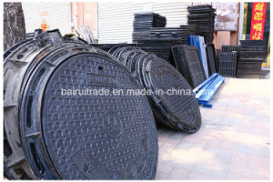 En124 Composite Manhole Cover and Frame for Export pictures & photos