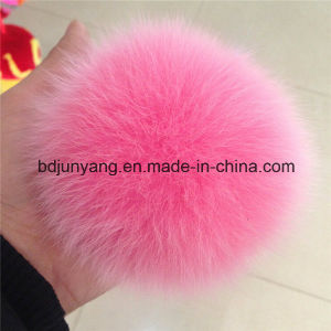 Wholesale High Quality Fox Fur Pompoms pictures & photos