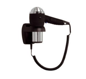 Black Wall Mounted Hair Dryer for Hotel pictures & photos