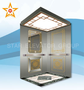 Machine Room Less High Speed Residential Passenger Elevator with Low Price pictures & photos