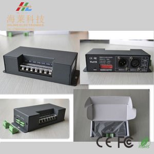 12-48VDC 350mA*4CH Constant Current LED DMX512 Universal Driver pictures & photos