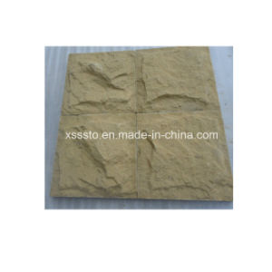 Yellow/Beige Sandstone Mushroom Tiles Natural Split Finish for Outdoor Wall pictures & photos