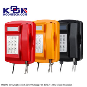 Waterproof Industrial Sos Telephone Call Box Mining Telephone Knsp-18 pictures & photos