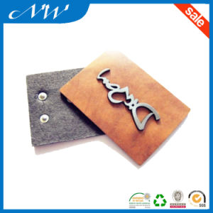 The New Indentation Technology for Leather Patch pictures & photos