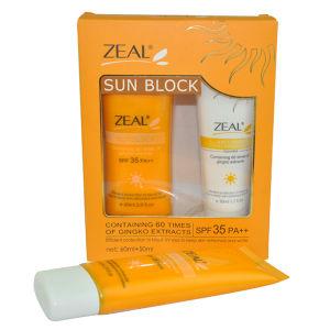 Zeal Sun-Blocking Cream Makeup Base Sunscreen Emulsion Sunblock Lotion Isolated Foundation Sun Blocking pictures & photos