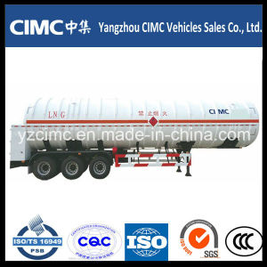 3 Axle 56000 Liters LNG Tank Trailer pictures & photos