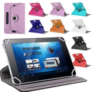 "New Universal 360 Degree Rotate Leather Case for Android Tablet 7"" 8"" 9"" 10"""