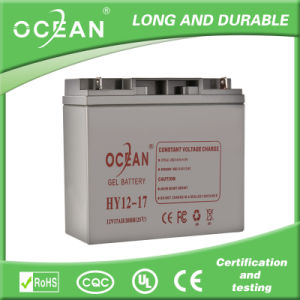Rechargeable AGM 12V 17ah Battery