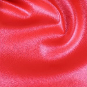 High Abrasion Resistance Skin-Imitated PVC Artificial Leather for Furniture Manufacturing pictures & photos