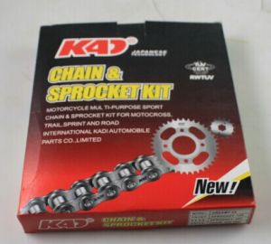 Motorcycle Spare Part Chain Kit Motorcycle Part pictures & photos