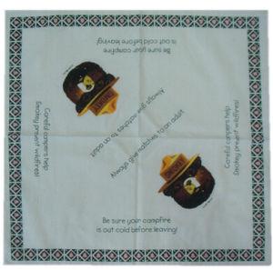 Wholesale Cheap Custom Cotton Square Smokey Bear Bandanas pictures & photos