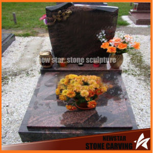 Factory Direct Classical Granite Tombstone in Graveyard Ts-003 pictures & photos