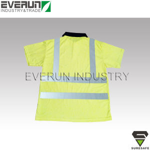 ER8251 High visibility POLO shirt Reflective work shirt pictures & photos