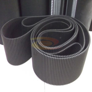 Black Rubber Endless Timing Belt for Power Transmission pictures & photos