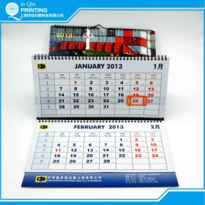 Hot Sale Printing 3-Month 2016 Wall Calendar pictures & photos