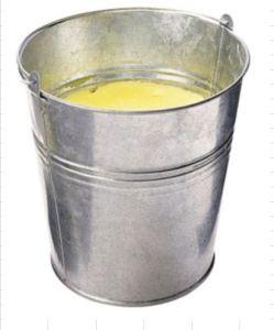 Galvanized Citronella Bucket Candle with Real Citronella Oil (SK8078)