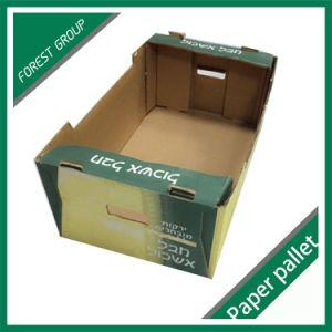 Custom Corrugated Paper Fruit Box pictures & photos