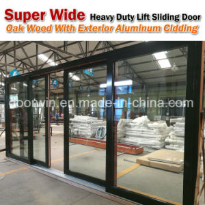 Heavy Duty Lift and Sliding Wood Aluminum Door for Missouri USA Client pictures & photos