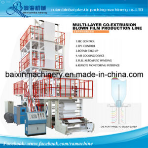 Multilayer Co-Extrusion Composite Packaging Film Machine pictures & photos