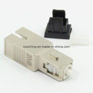SC/PC 20dB Single-Mode Female-Male Optical Attenuator pictures & photos
