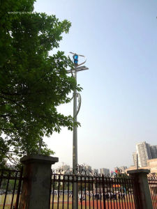 300W Maglev Vertical Wind Turbine Generator pictures & photos
