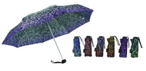 Decorative Pattern Compact Open&Close Umbrellas (YS-3FD22083971R) pictures & photos