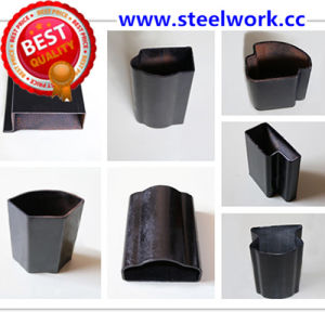 ERW Galvanized/ Annealing Welded Flat Oval Steel Tube (T-06) pictures & photos