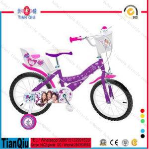 "16""New Design Kids Bike Bicycle for Girls with Big Back Rest From Kids Cycle Factory pictures & photos"