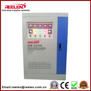 50kVA Three Phase Full Automatic Compensate Voltage Stabilizer SBW-50kVA pictures & photos